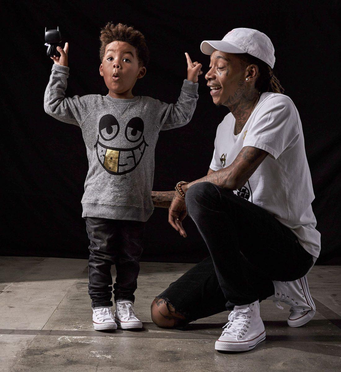 Wiz Khalifa et son fils - BASH