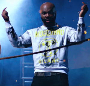 Kaaris - sweat Moschino