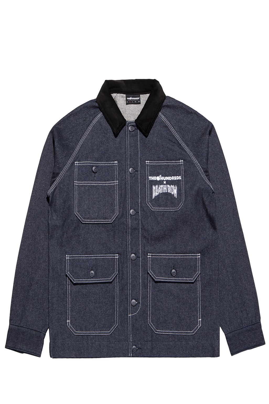 Veste en jean - The Hundreds x Death Row