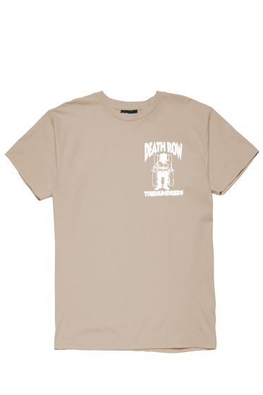 T-shirt marron - The Hundreds x Death Row
