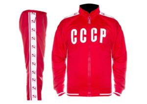 Les Alchimistes: survet' CCCP, sweat FILA, t shirt BENIBLA