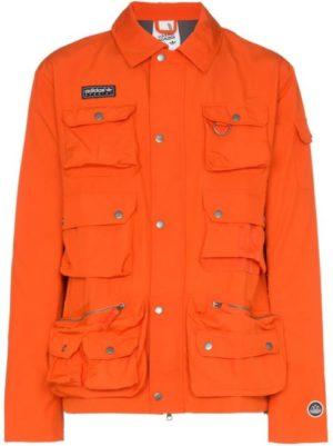 veste adidas orange homme
