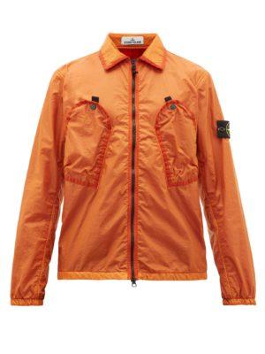 veste orange de NOS