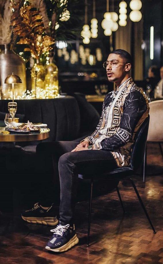 chemise Versace de Maes